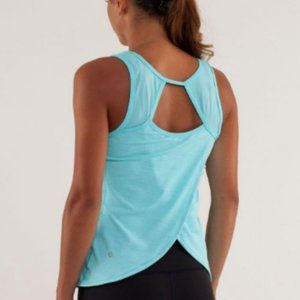 Lululemon speed squad tank top angel blue m